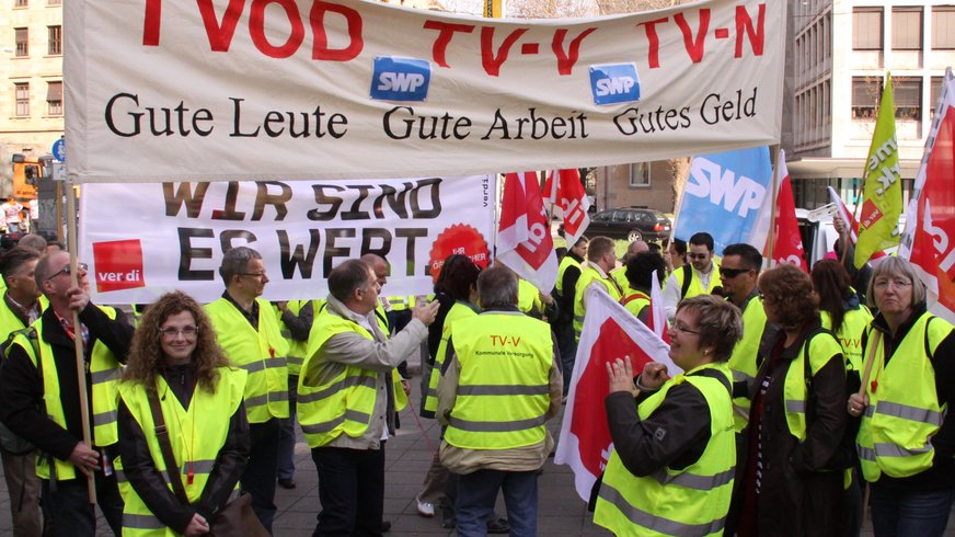 Demo in Stuttgart