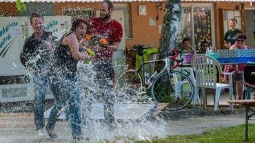 Wasser Aktion
