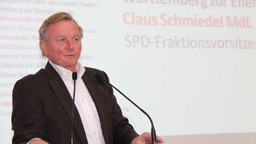 SPD-Fraktionsvorsitzender im baden-württembergischen Landtag, Claus Schmiedel.