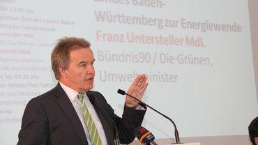 Franz Untersteller, Umweltminister in Baden-Württemberg.