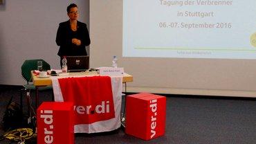 Präsentation an der Tagung der Verbrenner 2016