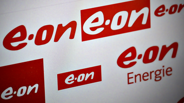 Logo des Energiekonzerns E.ON