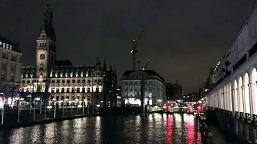 Hamburg Silhouette Panorama 2