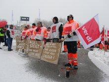 Streik bei ALBA SÜD
