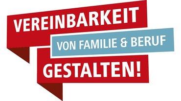 """Logo des DGB-Projekts """"Vereinbarkeit von Familie und Beruf gestalten"""""""