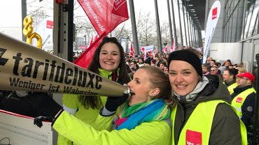 Die EnBW Jugend streikt für den Tarifdeluxe!
