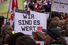 Kundgebung in Stuttgart